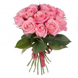букет роз - 15 розовых роз