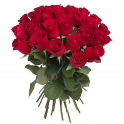 Bouquet of roses - 35 red...