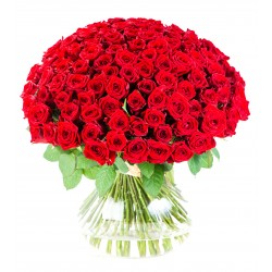 Bouquet of roses - 101 red...