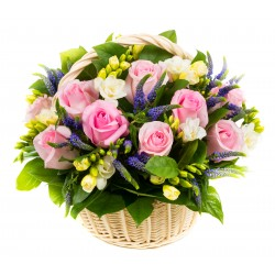 Flower basket BRIELLE