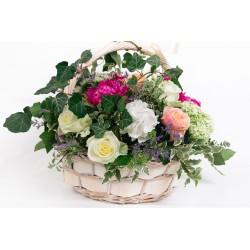 Flower basket AMBRA